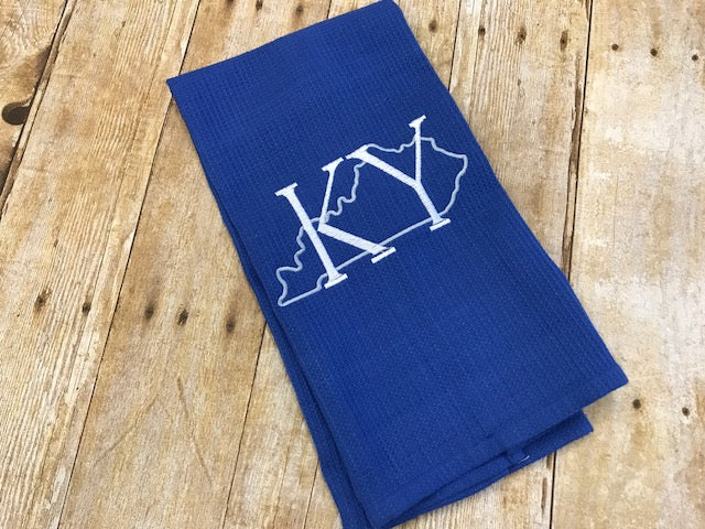 KY Outline Tea Towel