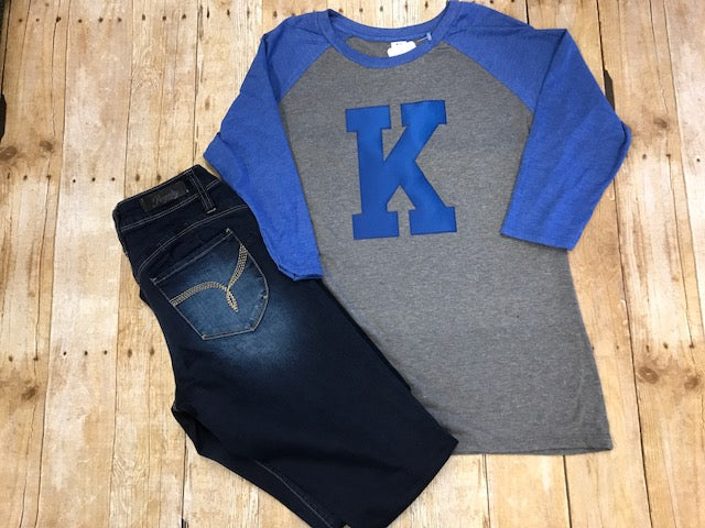 Kentucky K Raglan - Sew Cute By Katie