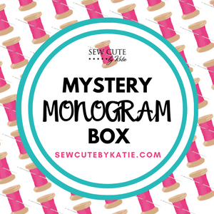 Mystery Monogram Box - Small box