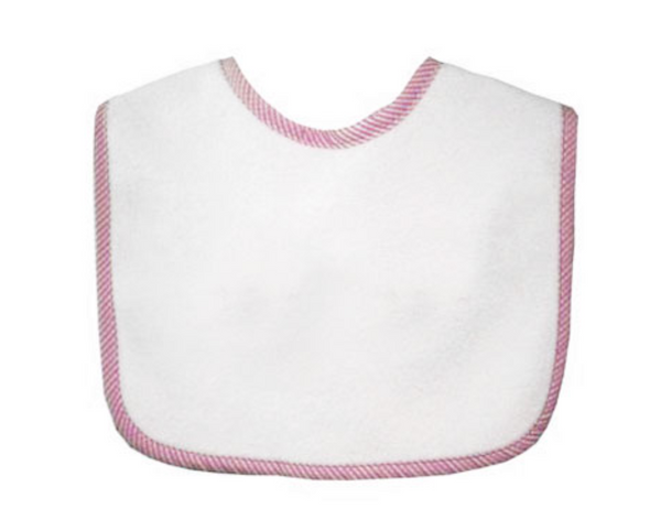 Baby Bib with 3-Letter Monogram