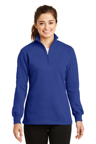 Monogrammed 1/4 zip royal sweatshirt - Sew Cute By Katie
