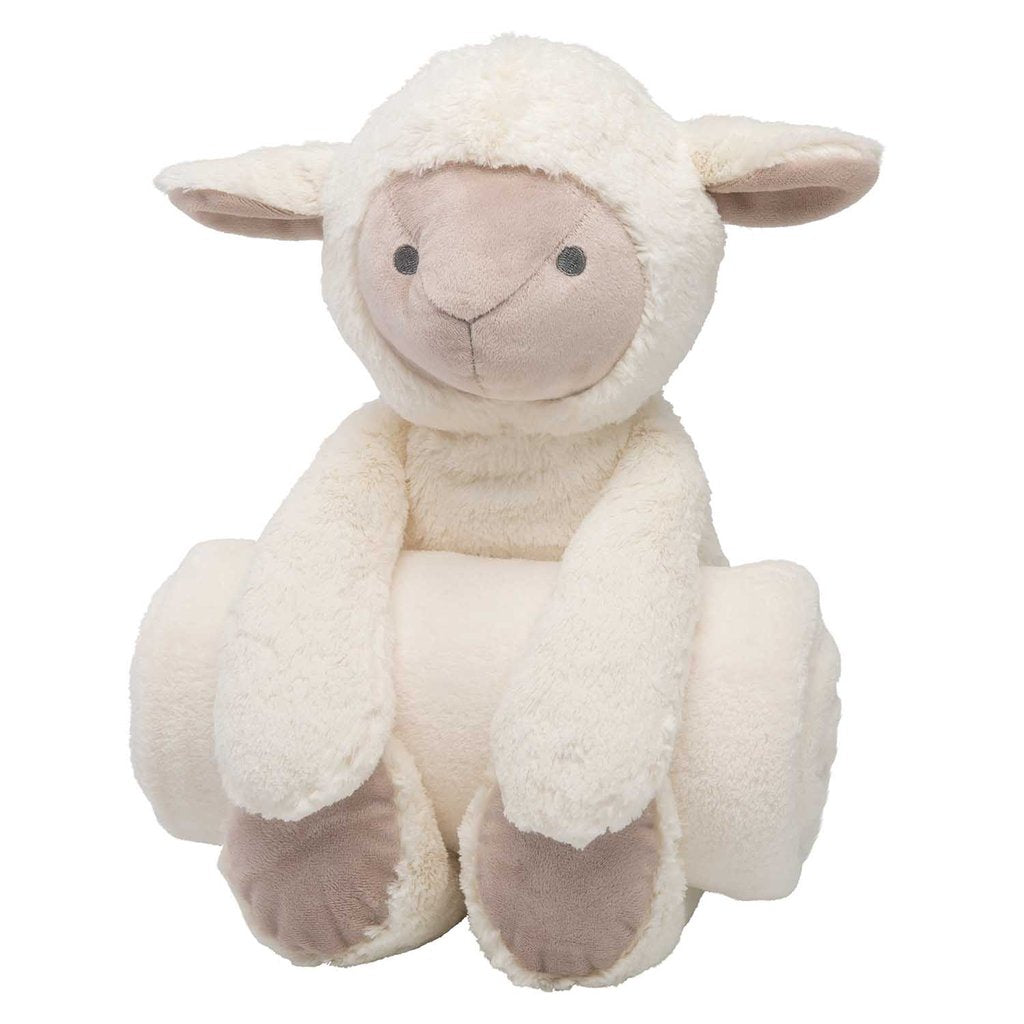 Lamb Security Blanket & plush animal - Sew Cute By Katie