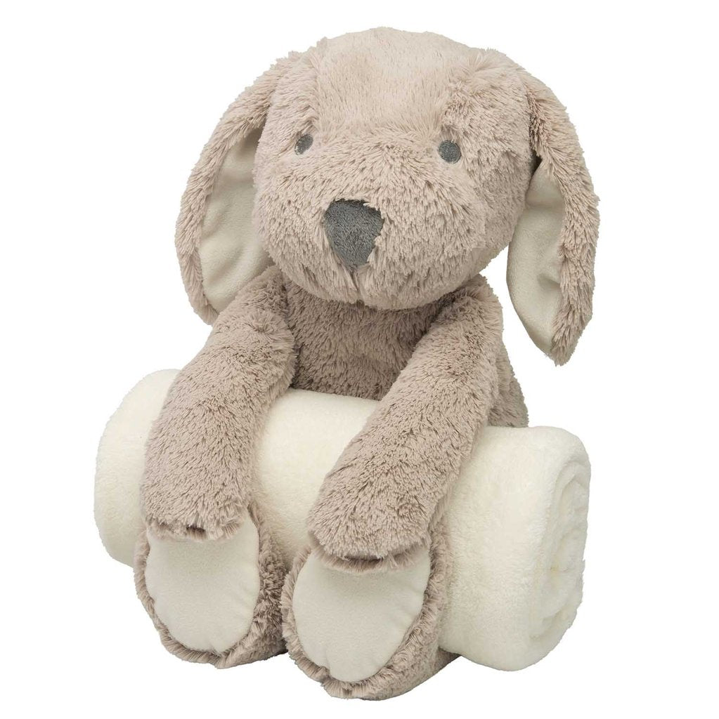 Puppy Security Blanket & plush animal - Sew Cute By Katie