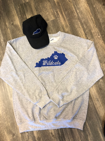 Kentucky Wildcats Sweatshirt - Sew Cute By Katie