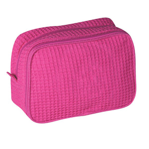 Waffle Weave Cosmetic Bag - Sew Cute By Katie