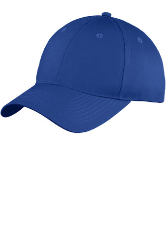 Monogram Baseball Hat - Royal