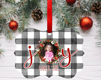 Personalized Ornament, Keepsake Ornament - Sew Cute By Katie