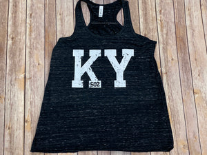 KY 502 Black Tank Top - Sew Cute By Katie