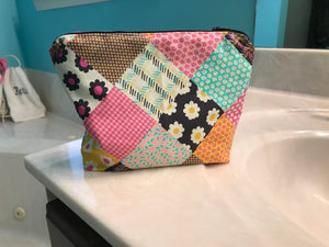 Zippered Cosmetic Bag Class - October 22 4-6 p.m. - Sew Cute By Katie
