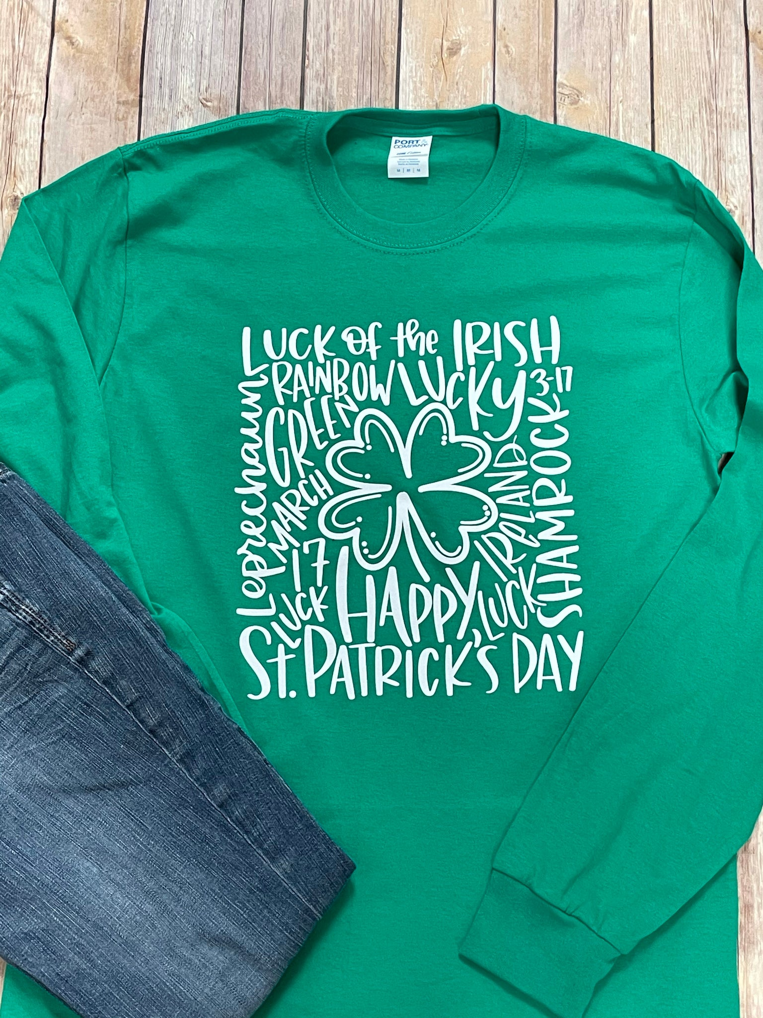 St. Patrick's Day Long Sleeve Tshirt