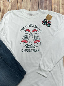 I'm Dreaming of a White Christmas Long Sleeve T-shirt