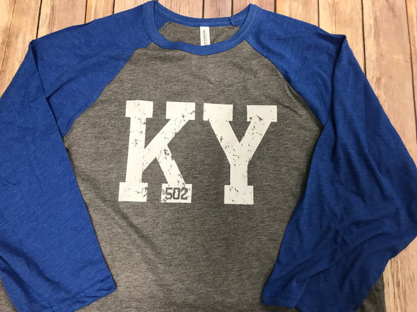 KY 502 Raglan Royal sleeve - Sew Cute By Katie