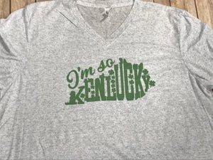 I'm so Kenlucky St. Patrick's Day Short Sleeve T-shirt - Sew Cute By Katie