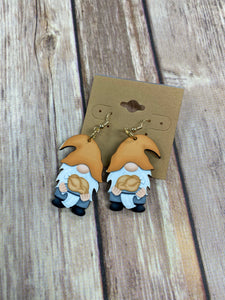 Gnome Turkey Earrings