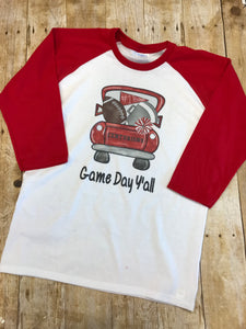 Centurion Sports Truck Spirit Shirt - youth size - Sew Cute By Katie