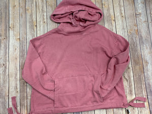 Crystal Pink Hooded Sweatshirt