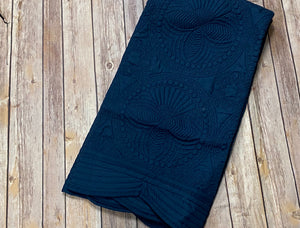 Baby Blanket Quilted - navy