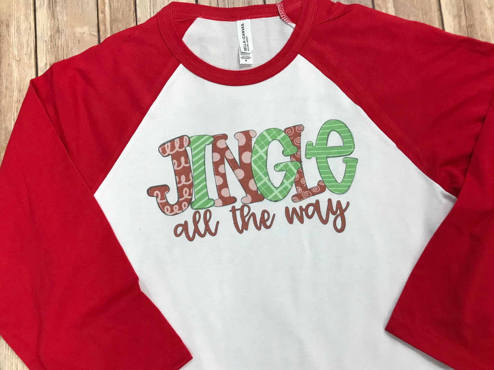 Jingle Christmas Shirt - Sew Cute By Katie