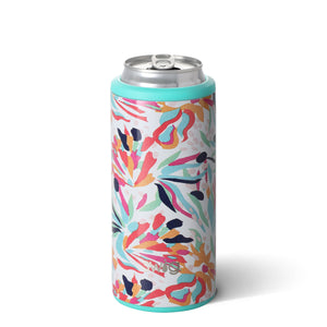 Slim Can Cooler -  Wild Flower - Sew Cute By Katie