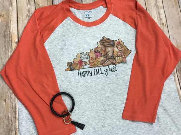 Happy Fall Y'all Kentucky - Sew Cute By Katie