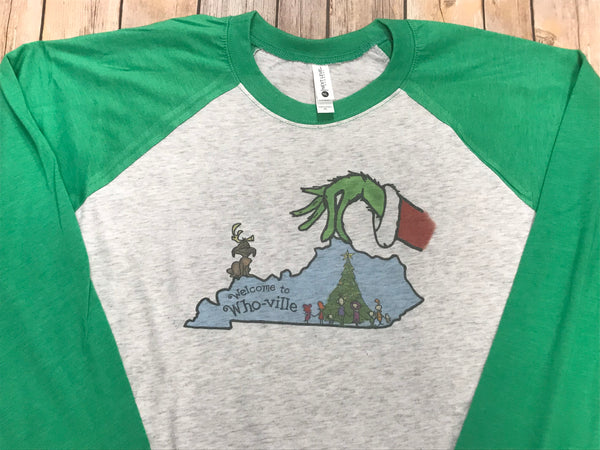 Kentucky Grinch Christmas Shirt - Sew Cute By Katie