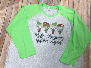 Golden Girls Theme Christmas Shirt - Sew Cute By Katie