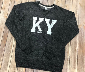 KY 502 French Terry Sweatshirt - Black - Sew Cute By Katie