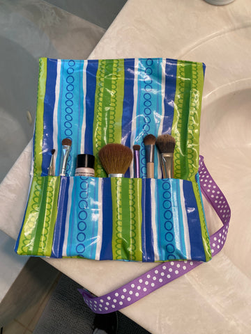 Makeup Brush Holder Class -online - Sew Cute By Katie