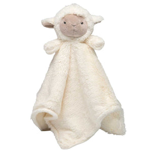 Blankie Monogramed Lamb security blanket