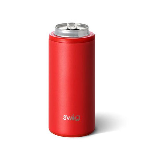 Slim Can Cooler - red