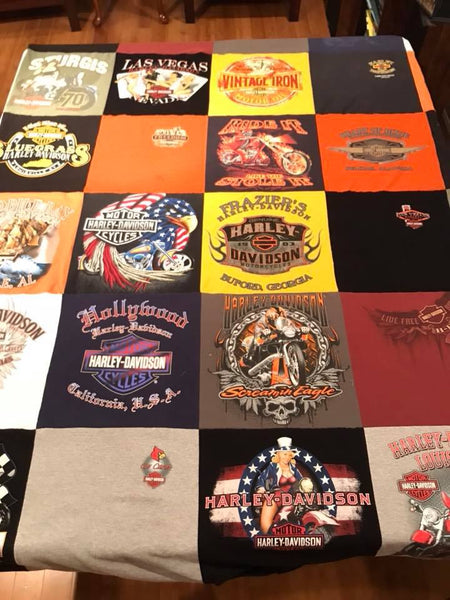 T-Shirt Quilt Sewing Video - Sew Cute By Katie