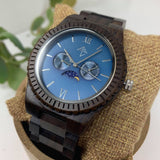 Moon - Black sandalwood watch