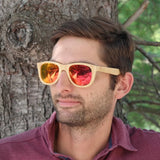 My Wooden Lifestyle minshan fire wooden sunglasses
