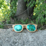 Bali - Polarized wooden sunglasses