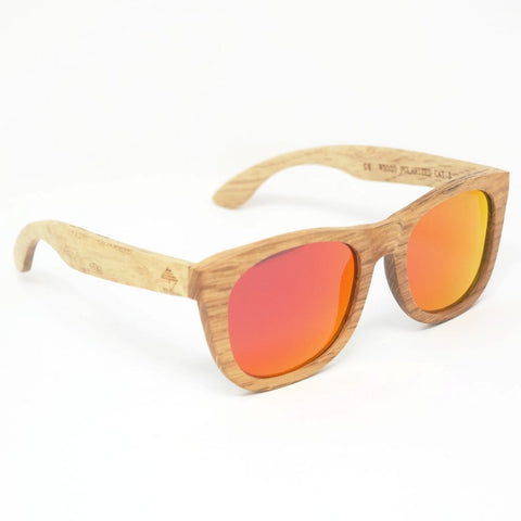 Minshan Fire wooden sunglasses