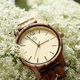 My Wooden Lifestyle Havana wood watch women