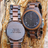 My wooden lifestyle Corcovado wood watch
