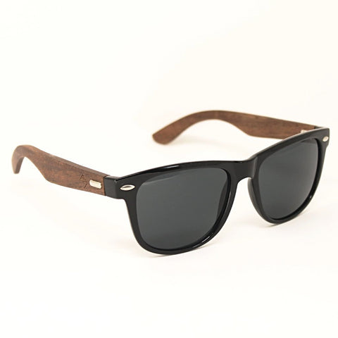 Amazona sunset wooden sunglasses