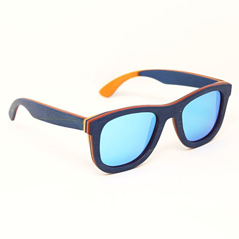 Venice sky wooden sunglasses