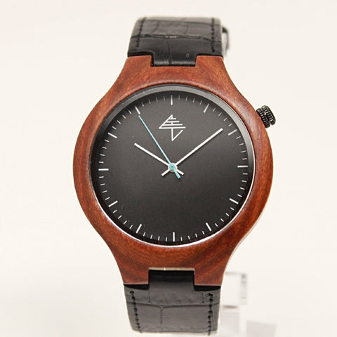 Samara Black wood watch