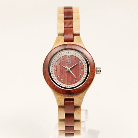 Luxor wood watch