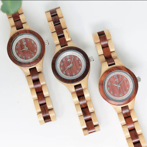 Luxor - Maple & sandalwood watch