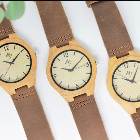Indiana - Bamboo watch