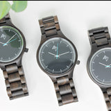 Saona - Ebony wood watch