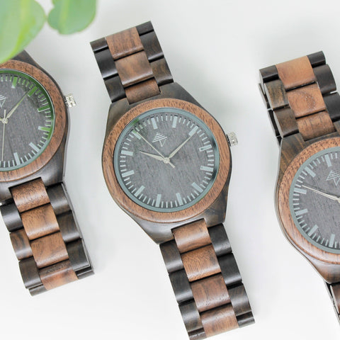 Corcovado - Walnut & sandalwood watch