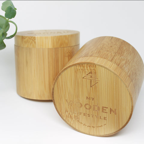 Watch bamboo box
