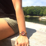 My wooden lifestyle Luxor wood watch women
