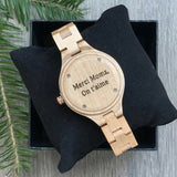 Maple - Maple wood watch