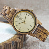 MWL havana women wood watch