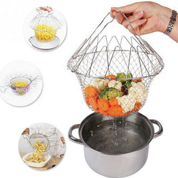 Collapsable Cook Basket - Beauty Dream Boutique